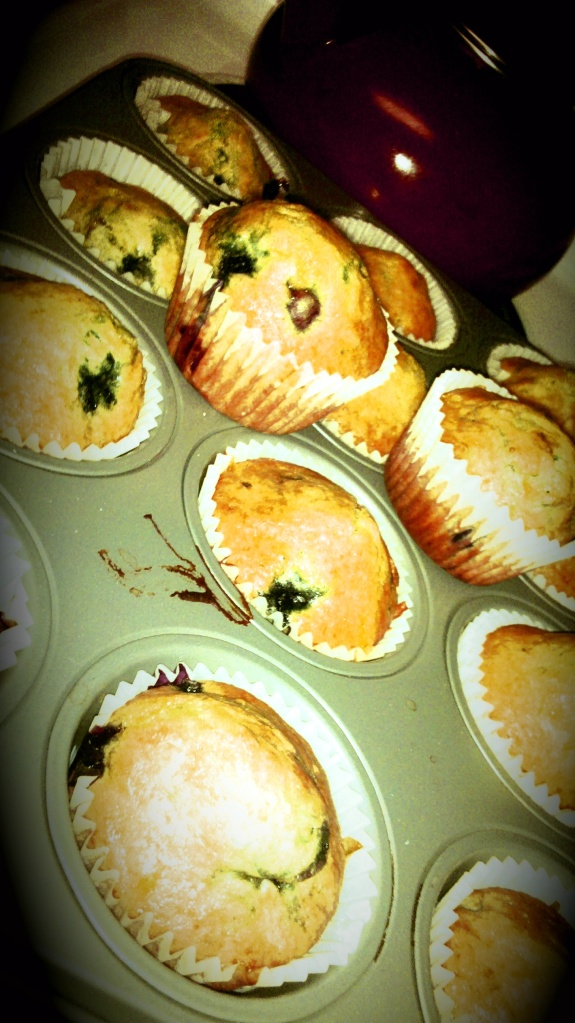 Lemon Blueberry Muffins, Blueberry muffins, baking