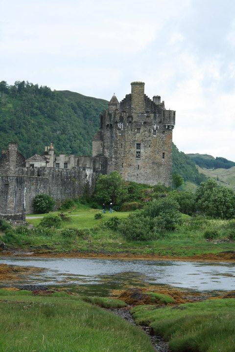 Eilean Donan Castle, Scotland, Scottish castle