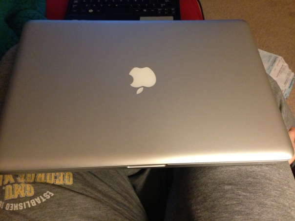 My new-old MacBook Pro!