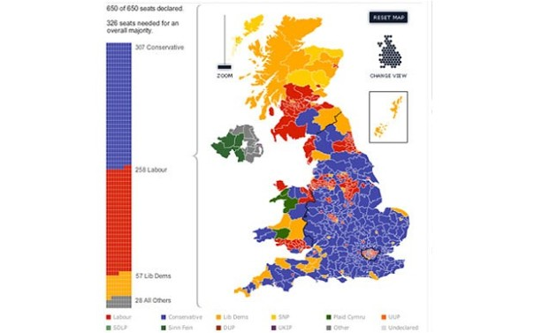 TelegraphMap2010Election